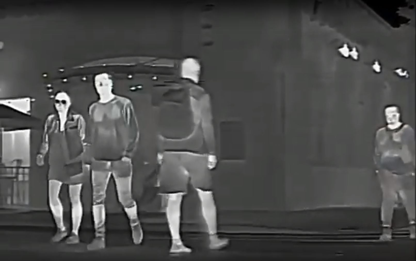 thermal image pedestrians