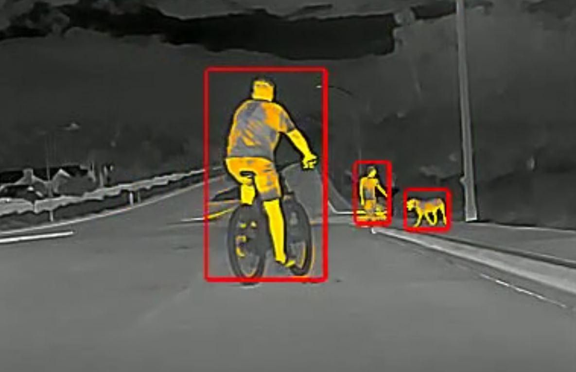 thermal driving camera
